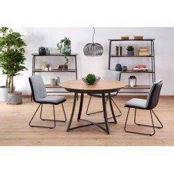 Круглый обеденный стол в стиле модерн MORETTI ( Моретти)