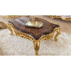 Резной журнальный столик в стиле барокко Роелла