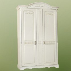 Двухдверный шкаф в стиле Прованс Анна, Мобекс