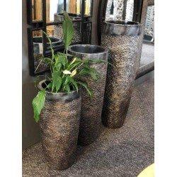 Декорированая ваза для ростений