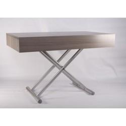 Серый обеденный раскладной стол Палермо (101.2391)