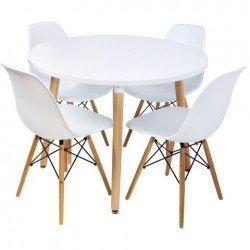Небольшой круглый обеденный стол DT-9017, Евродом