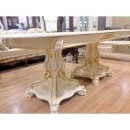 Стол обеденный раскладной цвет белый Селена