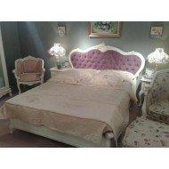 Белая кровать в мебельный гарнитур Софи, Китай